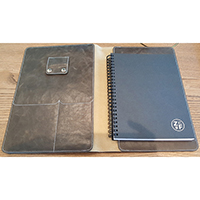 A5 PU Folder with Notebook